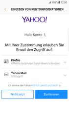 Samsung Galaxy S7 Edge (G935F) - Android Nougat - E-Mail - Konto einrichten (yahoo) - Schritt 9