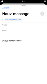 Apple iPhone 8 Plus - iOS 13 - E-mail - envoyer un e-mail - Étape 5