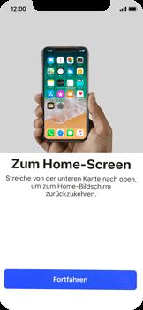 Apple iPhone X - iOS 11 - Persönliche Einstellungen von einem alten iPhone übertragen - 35 / 40