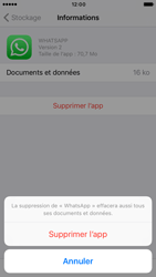 Apple iPhone 6 iOS 10 - Applications - Comment désinstaller une application - Étape 8