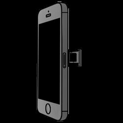 Apple iPhone 5s - SIM-Karte - Einlegen - 2 / 2