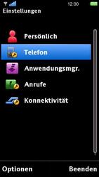 Sony Ericsson U5i Vivaz - Fehlerbehebung - Handy zurücksetzen - 6 / 10