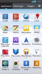 LG Optimus F5 - Internet et connexion - Activer la 4G - Étape 3