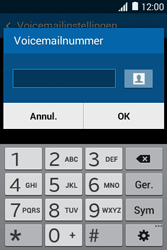 Samsung Galaxy Young 2 (G130HN) - voicemail - handmatig instellen - stap 7