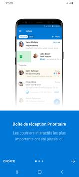 Samsung Galaxy A42 5G - E-mails - Ajouter ou modifier votre compte Outlook - Étape 11