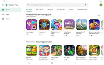 Samsung Galaxy Tab S7 - Apps - Einrichten des App Stores - Schritt 22