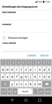 LG Q6 - E-Mail - Konto einrichten - Schritt 13