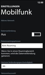 Nokia Lumia 800 / Lumia 900 - Internet und Datenroaming - Manuelle Konfiguration - Schritt 7