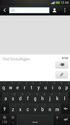 HTC Desire 601 - MMS - Erstellen und senden - Schritt 8