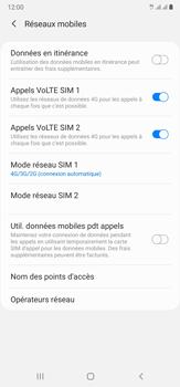 Samsung Galaxy Note20 Ultra 5G - Internet et connexion - Activer la 4G - Étape 8