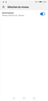 Huawei P20 Pro - Android Pie - Réseau - Sélection manuelle du réseau - Étape 6