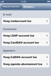 Apple iPhone 4 S - E-mail - Handmatig instellen - Stap 6