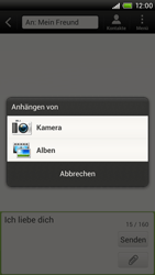 HTC One X - MMS - Erstellen und senden - 12 / 18