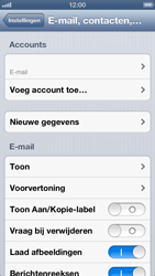 Apple iPhone 5 - E-mail - Handmatig instellen - Stap 14
