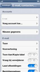 Apple iPhone 5 (iOS 6) - e-mail - handmatig instellen - stap 13