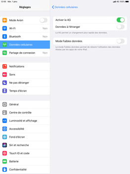 Apple iPad Air (2019) - iPadOS 13 - Réseau - activer 4G - Étape 6