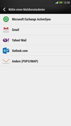 HTC One Max - E-Mail - Konto einrichten - 1 / 1