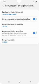 Samsung Galaxy A50 - internet - mobiele data managen - stap 15