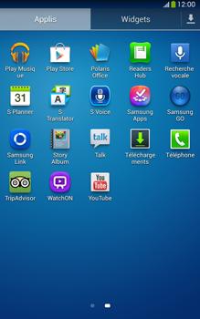 Samsung Galaxy Tab 3 8-0 LTE - Applications - Installation d