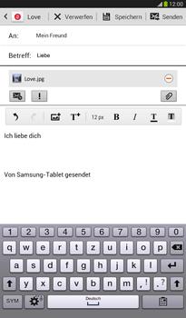 Samsung T211 Galaxy Tab 3 7-0 - E-Mail - E-Mail versenden - Schritt 16