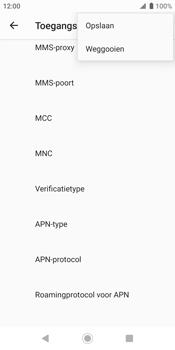 Sony xperia-xz2-h8216-android-pie - Internet - Handmatig instellen - Stap 17