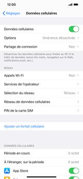 Apple iPhone XR - iOS 14 - Réseau - Sélection manuelle du réseau - Étape 4