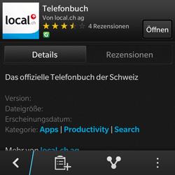 BlackBerry Q10 - Apps - Installieren von Apps - Schritt 9