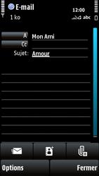 Nokia X6-00 - E-mail - envoyer un e-mail - Étape 8