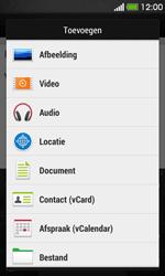 HTC Desire 500 - e-mail - hoe te versturen - stap 11