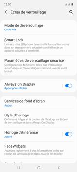 Samsung Galaxy A71 - Sécuriser votre mobile - Activer le code de verrouillage - Étape 13