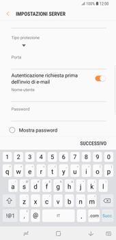Samsung Galaxy S9 Plus - E-mail - configurazione manuale - Fase 13