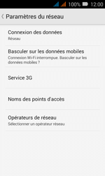Huawei Y3 - Réseau - Changer mode réseau - Étape 5