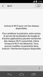 Huawei Ascend P7 - Wifi - configuration manuelle - Étape 4
