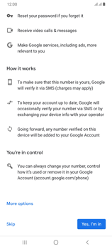 Samsung Galaxy A70 - Applications - Setting up the application store - Step 13