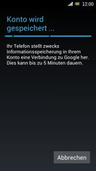 Sony Ericsson Xperia Ray mit OS 4 ICS - Apps - Konto anlegen und einrichten - 13 / 18