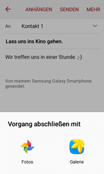 Samsung J120 Galaxy J1 (2016) - E-Mail - E-Mail versenden - Schritt 12