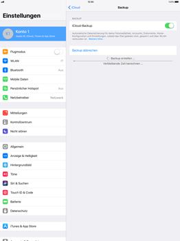 Apple iPad Pro 12.9 inch - Software - Eine iCloud-Sicherheitskopie erstellen und an ein neues Gerät übertragen - 8 / 10
