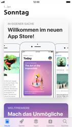 Apple iPhone 6 - iOS 11 - Apps - Nach App-Updates suchen - Schritt 3