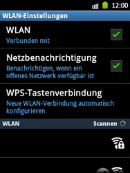 Samsung Galaxy Pocket - WiFi - WiFi-Konfiguration - Schritt 7
