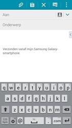 Samsung G850F Galaxy Alpha - E-mail - E-mails verzenden - Stap 5