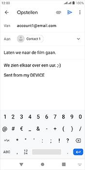 Alcatel 1-s-dual-sim-5024d - E-mail - Bericht met attachment versturen - Stap 9