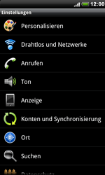 HTC S510e Desire S - Internet - Manuelle Konfiguration - Schritt 4