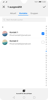 Huawei Mate 20 - E-Mail - E-Mail versenden - Schritt 6