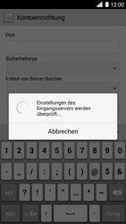 Huawei Ascend G6 - E-Mail - Konto einrichten - 0 / 0