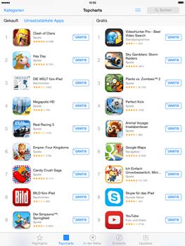 Apple iPad 4 mit iOS 7 - Apps - Herunterladen - Schritt 8