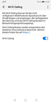 Huawei Mate 10 Pro - Android Pie - WiFi - WiFi Calling aktivieren - Schritt 9