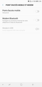 Samsung Galaxy J4+ - Internet et connexion - Utiliser le mode modem par USB - Étape 6