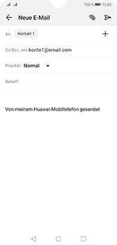 Huawei Mate 20 - E-Mail - E-Mail versenden - Schritt 7