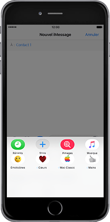 Apple Apple iPhone 7 - iOS features - Fonctions iMessage - Étape 3