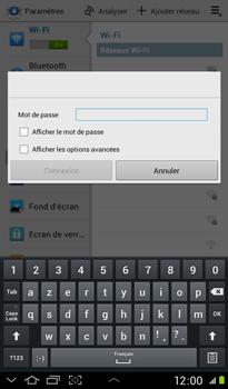 Samsung P3100 Galaxy Tab 2 7-0 - Wifi - configuration manuelle - Étape 5